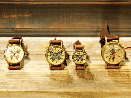 手作り腕時計