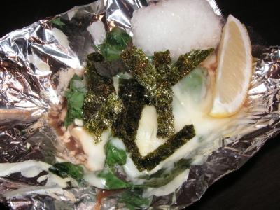 牡蛎チーズ