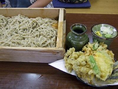 舞茸の天婦羅と蕎麦_22