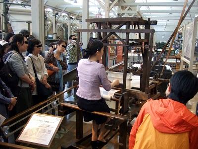08_豊田式木製人力織機