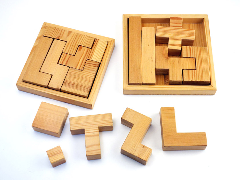ペンタブロックの手作り試作品