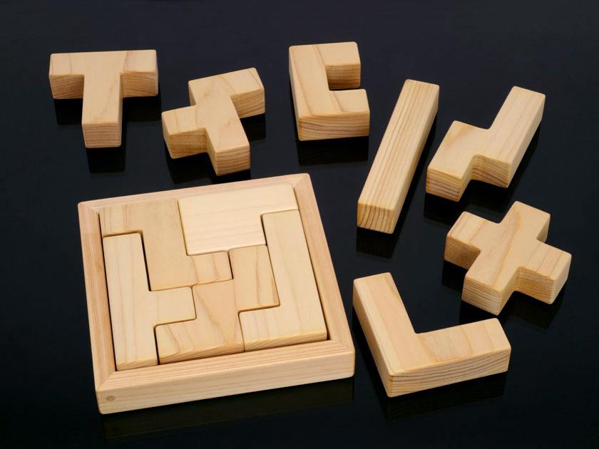 ボックス5×5に入れたペンタブロック