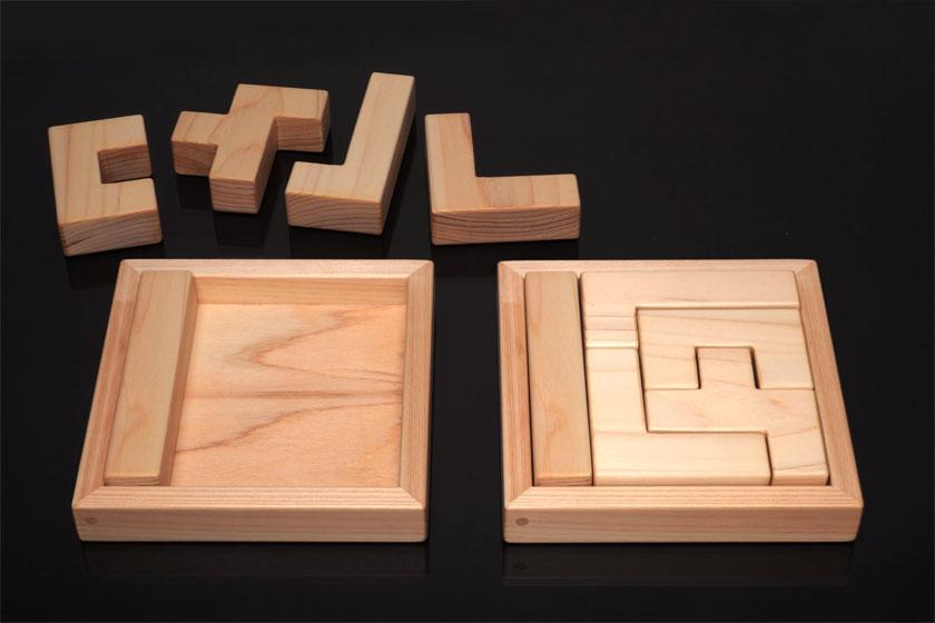 ボックス5×5にペンタブロックの「I」のブロックを入れておく