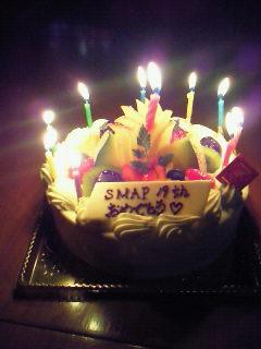 SMAPさんBDケーキ?
