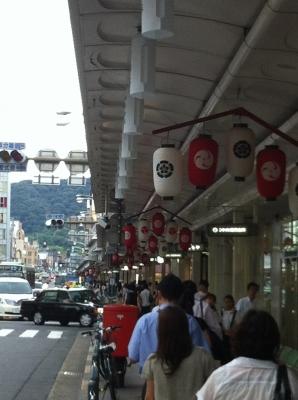 祇園祭りも近い!