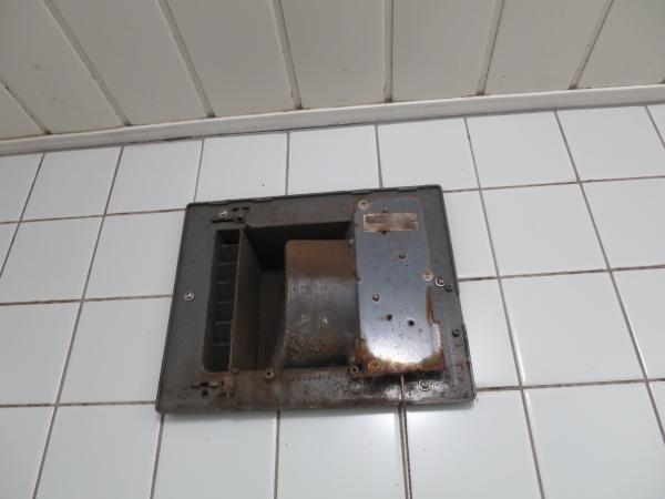 浴室換気扇 BF−101B 内部写真