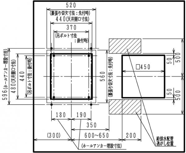 BBD−3306ACSK(FD−2814J3MU)天井図面