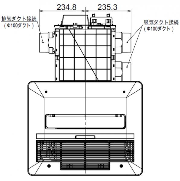 BDV-4104AUKNC-J3-BLの図面