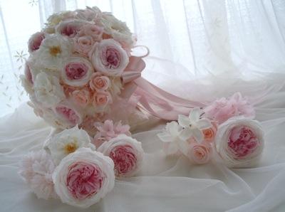 ジャスミン 髪花飾り