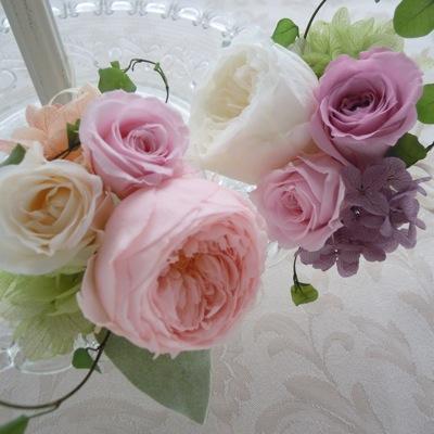 贈呈花 お父様用ブートニア