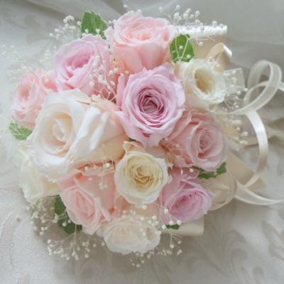 ウェルカムボード 装飾花