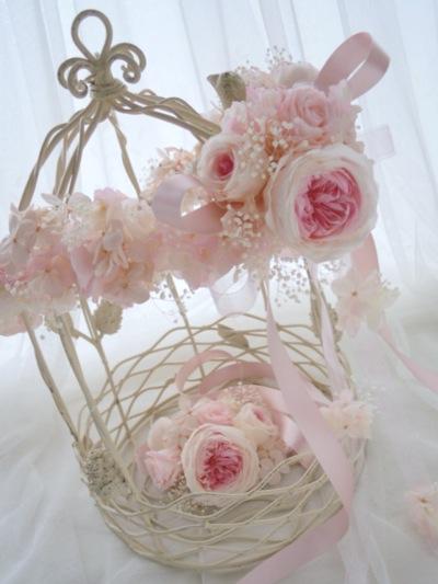 リストレットとお揃いの花冠