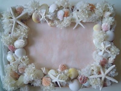 貝殻 ウェルカムボード