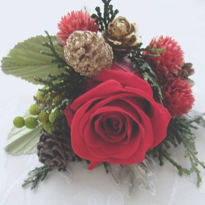 ブートニア クリスマス