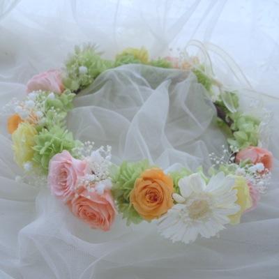 ガーベラ花冠