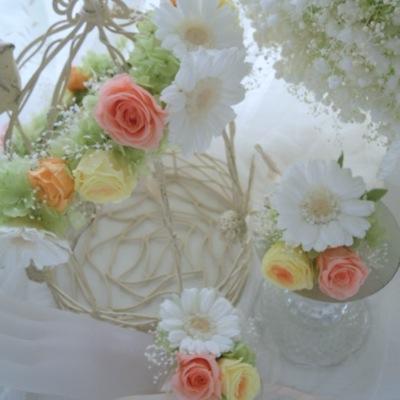 ガーベラ 花冠