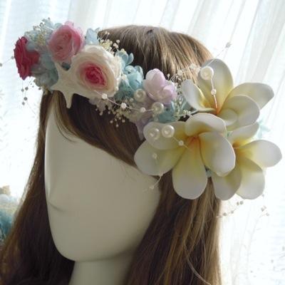 プルメリア 花冠