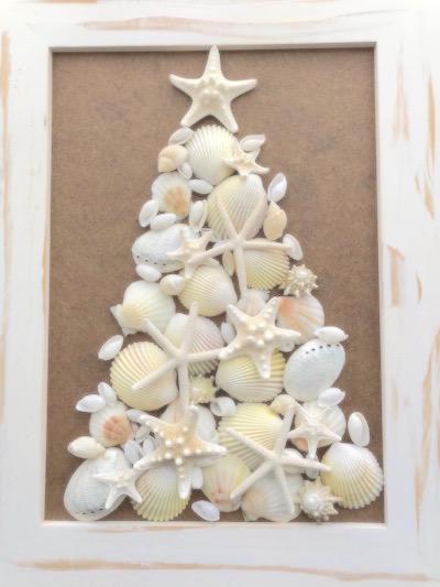 貝殻 クリスマスツリー
