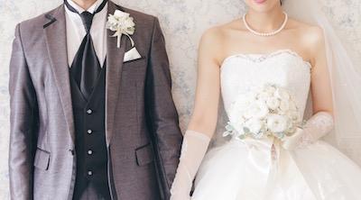 大人可愛い花嫁