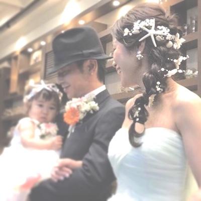 パパママ婚 花冠