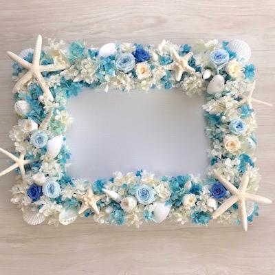 貝殻ウェルカムボード