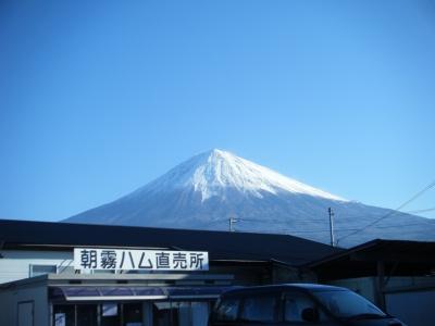 晴天の富士山