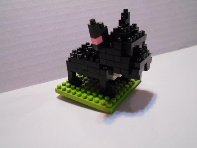 ブロック犬1