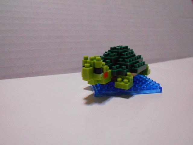 ブロック亀1