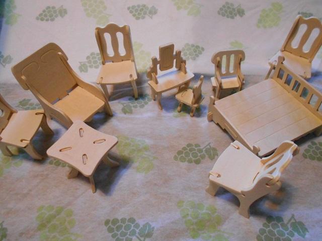 ウッドクラフト家具色々