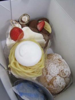 M店のケーキ