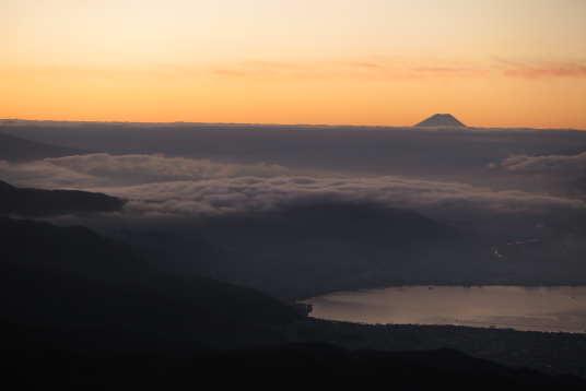 富士山の様子