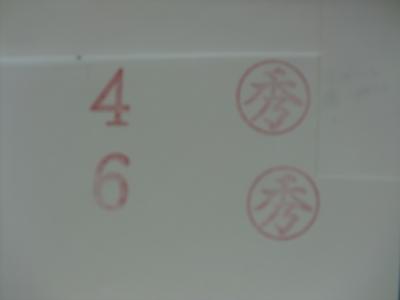 梨ゴム印4