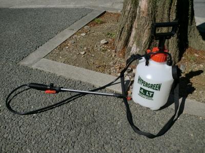 除草剤散布2