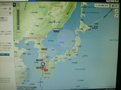 台風7号その2