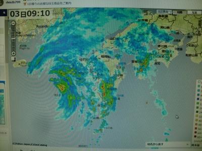 台風7号その3