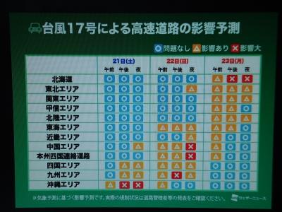 台風17号3