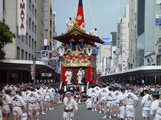 2003年の山鉾巡行