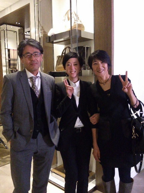 バーバリー、和田さんと