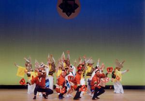 演奏舞踊集団楽楽