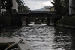堀川めぐり米子橋
