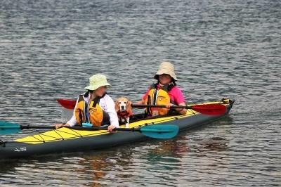 カヌー琵琶湖