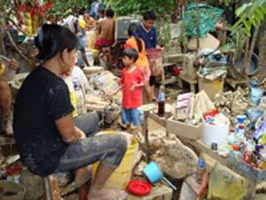 フィリピン洪水被害1