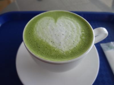 抹茶ラテ1