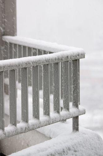 balcon neige