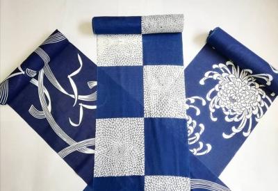 徳島 藍染 浴衣 阿波藍 着物屋 呉服店 販売店 きものふくや 現代の名工 古庄紀治 天然藍染