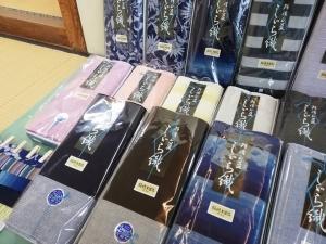 四国 徳島県 徳島市の阿波しじら着物
