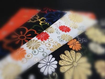徳島市 七五三きもの 帯 祝帯 袋帯 十三参り 呉服店 婦久や