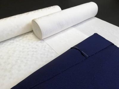 徳島 呉服店 藍染め 色無地 着物 現代の名工 古庄染工場