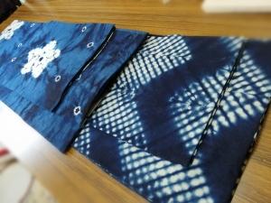藍染 浴衣 絞り 阿波藍 吉野川高校藍染班
