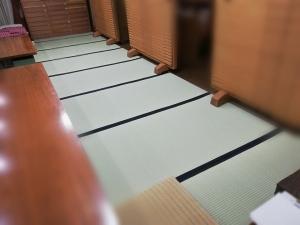 呉服屋 徳島市 そごう徳島店南へ 2020年は新しい畳で